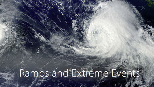 Ramps and Extreme Events